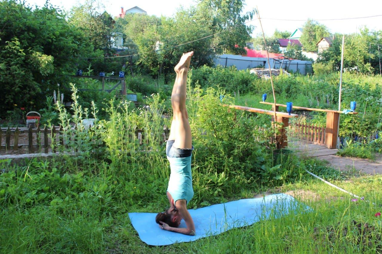 Коврик для йоги фото покупателя