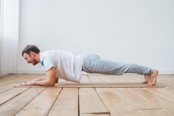 Коврик для йоги Fantasy пробковое покрытие