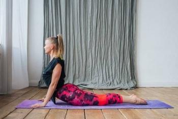 Коврик для йоги OM Yoga Club 183 см