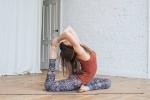 Коврик для йоги LEO Yoga Club Пробковое покрытие_3