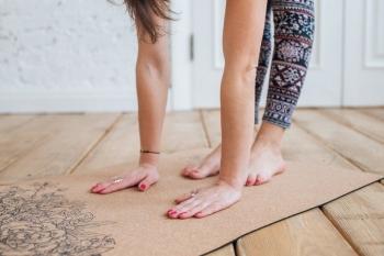 Коврик для йоги LEO
