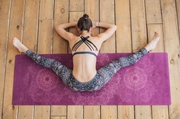 Коврик для йоги Mandala каучук