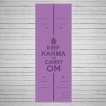 Коврик для йоги из натурального каучука Karma_1