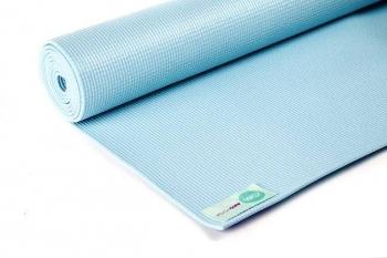 Коврик для йоги Асана Стандарт голубой 185 см