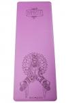 Коврик для йоги Namaste фиолетовый