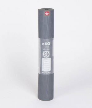 Коврик для йоги Manduka EKO Lite Mat THUNDER серый