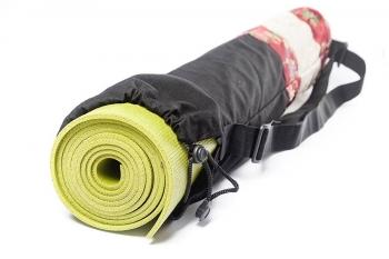 Чехол для йога-коврика Гейша красный