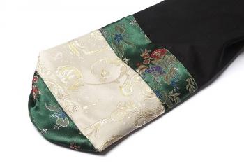 Чехол для йога-коврика Гейша зеленый