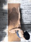 Коврик для йоги Mehendi пробка