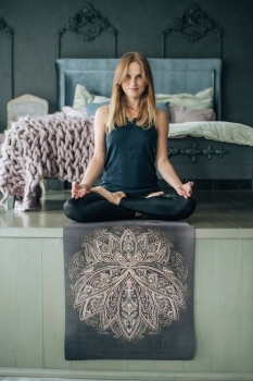 Коврик для йоги Lotus Yoga Club