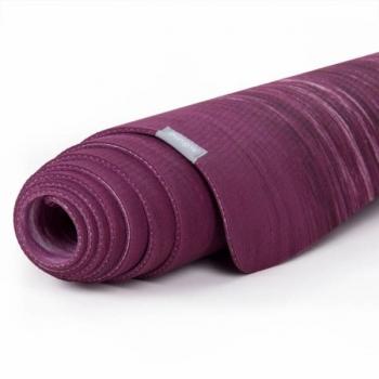 Коврик для йоги Samurai Marbled фиолетовый 185 см