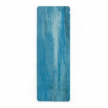 Коврик для йоги Samurai Marbled голубой