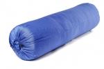 Болстер для йоги Айенгара шерстяной с хлопковым чехлом синий