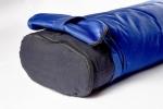 Болстер для йоги прямоугольный синий