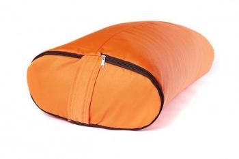 Болстер для йоги прямоугольный оранжевый