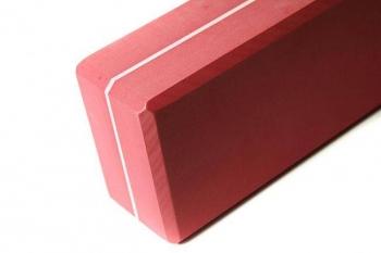 Кирпич для йоги из EVA-пены Yoga brick 22x11x7 см
