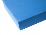 Опорный блок для йоги из EVA-пены 30*20*5 см, голубой_2