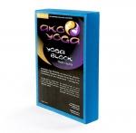 Опорный блок для йоги из EVA-пены 30*20*5 см, голубой_3