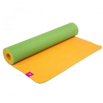 Коврик для йоги Fruits Апельсин из ТПЕ Devi Yoga