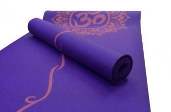 Коврик для йоги с принтом ОМ