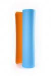 Коврик для йоги Шакти Earth Голубой + Оранжевый_3