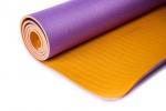 Коврик для йоги Шакти Earth Фиолетовый + Оранжевый_1
