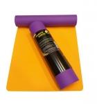 Коврик для йоги Шакти Earth Фиолетовый + Оранжевый_3
