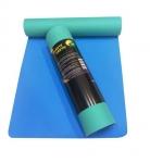 Коврик для йоги Шакти Earth Зеленый + Голубой_3