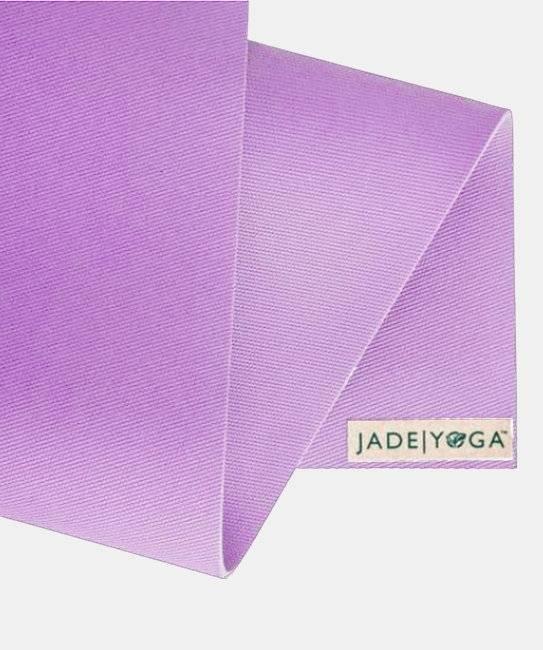 Коврик для йоги Jade Voyager розовый