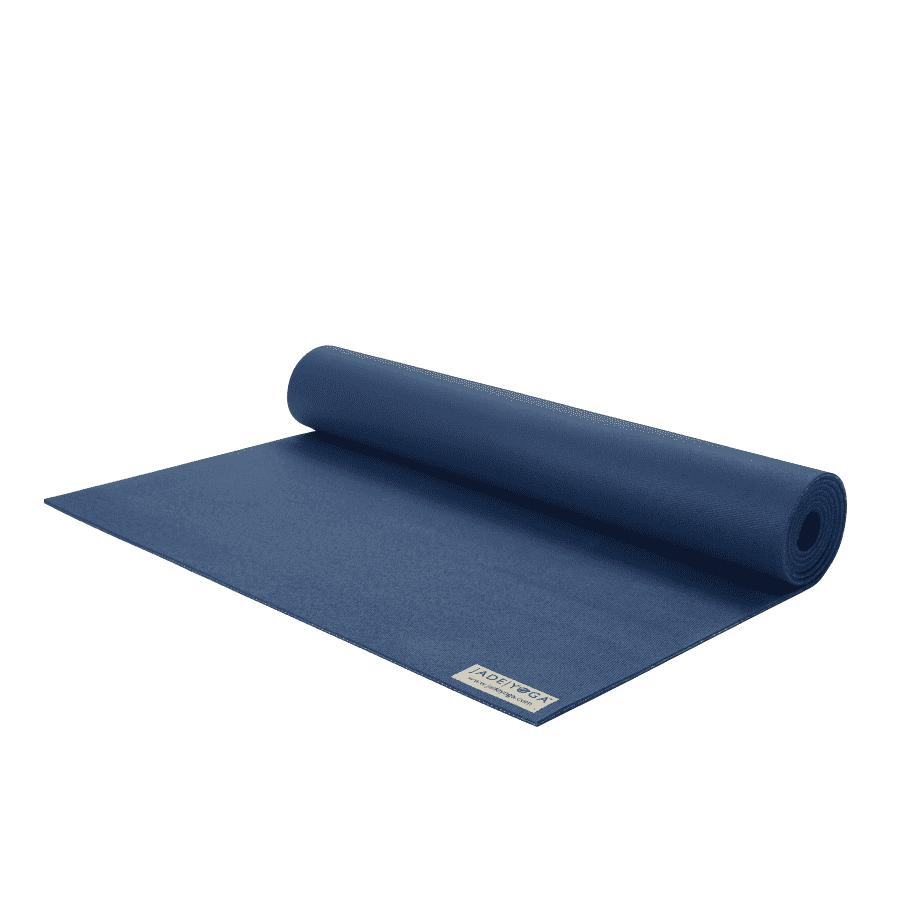 Коврик для йоги Jade Harmony Extra Wide темно-синий