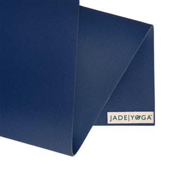 Коврик для йоги Jade Harmony Extra Wide широкий темно-синий