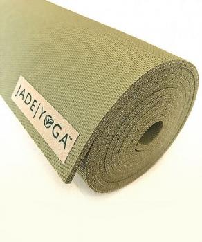 Коврик для йоги Jade Harmony Extra Wide зеленый