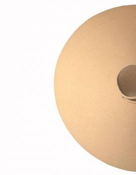 Коврик для йоги в бухте Yin-Yang Studio OM бежевый 60 см