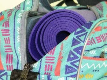 Сумка для йога-коврика Гаруда, этно