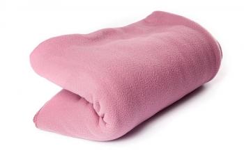Плед Сурья для шавасаны бордовый  розовый