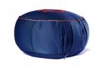 Подушка для медитации Ом синий