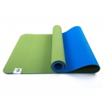 Коврик для йоги Лотос Light Синий + Зеленый