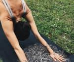 Коврик для йоги Lotos каучук
