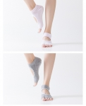 Носочки с вырезом и открытыми пальчиками для йоги Yoga Club_1