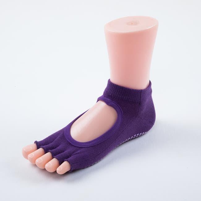 Носочки с вырезом и открытыми пальчиками для йоги ajnj