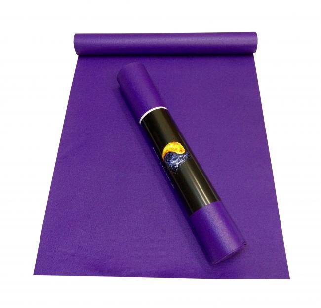 Коврик для йоги Ришикеш (Yin Yang Studio) 4,5х60х173/183/200/220 Ako Yoga из ПВХ