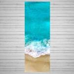 Коврик для йоги Ocean ID из микрофибры и каучука 1 мм