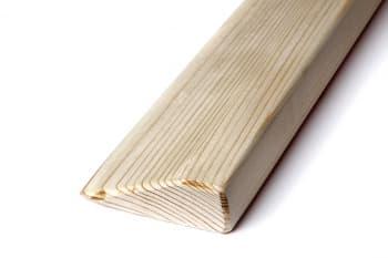 Планка (блок-клин) для йоги деревянная шлифованная 60х11х2,5