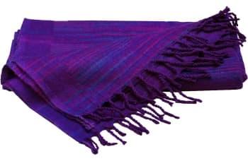 Плед для медитации и шавасаны фиолетовый