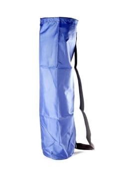 Чехол для йога коврика Simple без кармана синий фото