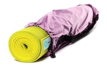 Чехол для йога коврика Simple без кармана розовый