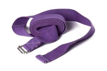 Ремень для йоги хлопковый Де люкс усиленный. Ширина - 4 см
