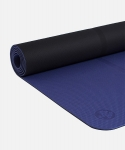 Коврик для йоги Manduka Begin mat Navy 5mm из TPE