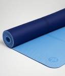 Коврик для йоги Manduka Begin mat Light Blue 5mm из TPE