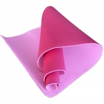 Коврик для йоги TPE 183х61х0,6 светло-розовый (под заказ)